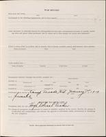 World War I service record for Willard Robert Bell, p. 3
