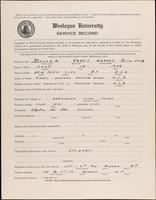 01.002.023 World War I service record for James Warner Bellah, p. 1