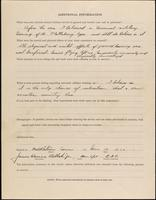 01.002.023 World War I service record for James Warner Bellah, p. 4