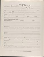 World War I service record for Robert Wade Parsons, p. 2