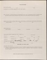 World War I service record for Robert Wade Parsons, p. 3
