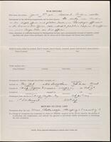World War I service record for David Manker Patten, p. 3