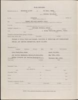 World War I service record for Ames Scribner Albro, p. 2