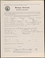 02.010.016 World War I service record for George Francis Peck