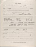 World War I service record for Ivan Maurice Perkins, p. 2