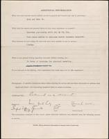World War I service record for Sanford Tiffany Bennett, p. 4