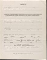 World War I service record for Ivan Maurice Perkins, p. 3