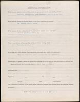 World War I service record for Warren Moncrief Perry, p. 4