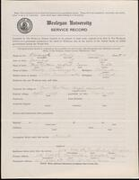 02.010.032 World War I service record for Stanley Anthony Polcharcyzk