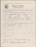 01.002.027 World War I service record for Harry Gerald Berglund