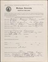 01.002.029 World War I service record for Herman David Berlew