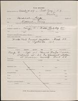 World War I service record for Guy Foote Pullew, p. 2