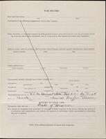 World War I service record for Guy Foote Pullew, p. 3