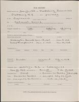 World War I service record for George Hibbard Purdy, p. 2