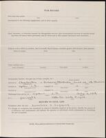 World War I service record for George Hibbard Purdy, p. 3