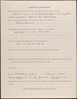 World War I service record for George Hibbard Purdy, p. 4