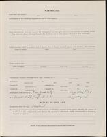World War I service record for Frank William Putnam, p. 3
