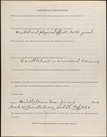 World War I service record for Frank William Putnam, p. 4