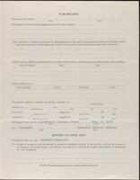 World War I service record for Samuel Powell, p. 3