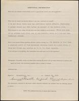 World War I service record for Samuel Powell, p. 4