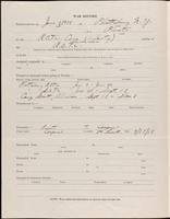 01.001.005 World War I service record for George Asa Ackerly, p. 2