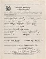 01.002.031 World War I service record for Robert Adolph Bernhard