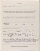 World War I Service Record for Allen Reynolds Bishop, p. 3