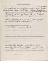 World War I Service Record for Allen Reynolds Bishop, p. 4