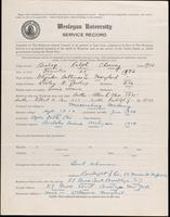 01.002.038 World War I Service Record for Ralph Chesney Bishop