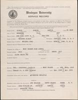 01.002.037 World War I Service Record for Edmund Martin Bishop