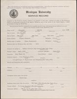 01.002.043 World War I Service Record for Harold Blauvelt