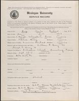 01.003.010 World War I Service Record for Charles Reichard Bray
