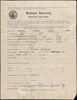 01.003.001 World War I Service Record for Stanley Ramsey Bodine