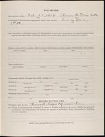 World War I service record for Lew Allen, p. 3