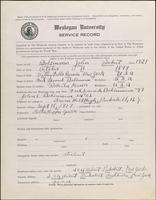 01.003.002 World War I Service Record for John Robert Bohlmann