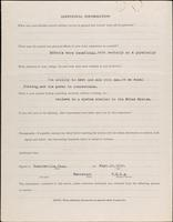 World War I Service Record for Amos Dickers Bridge, p. 4