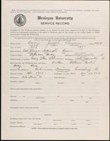01.003.011 World War I Service Record for Joseph Truman Bray