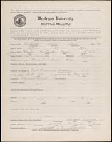 01.001.016 World War I service record for Edwin Carl Anderson