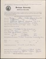 01.003.004 World War I Service Record for John Wesley Edward Bowen