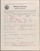 01.003.005 World War I Service Record for Daniel Heston Boyd