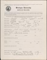 01.003.016 World War I Service Record for John Cypert Briggs