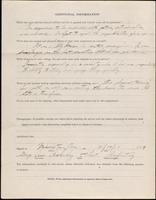 01.001.005 World War I service record for George Asa Ackerly, p. 4