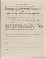 World War I service record for Lew Allen, p. 4