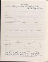 World War I Service Record for Abram Brineman Bruner, p. 2