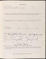 World War I Service Record for Abram Brineman Bruner, p. 3