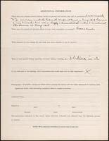 World War I Service Record for William Eiams Bruner, p. 4