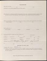 World War I Service Record for Foster Lewis Burgess, p. 3