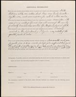 World War I Service Record for Foster Lewis Burgess, p. 4