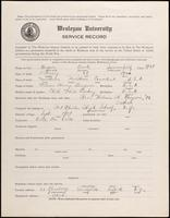 01.003.038 World War I Service Record for Frank Summerfield Burgroin