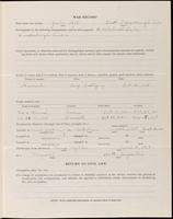 World War I Service Record for Alonzo Perine Burnett, p. 3